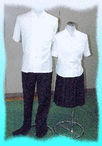 三井高等学校制服画像